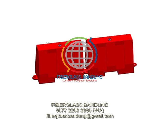 fiberglass road barriers