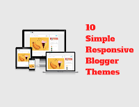 10 Free Simple Blogger Responsive Templates