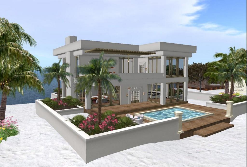 Modern homes exterior designs views