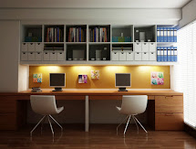 Creative Home Office Workspaces Feature Two Person