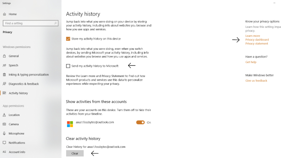 Microsoft Keeps Track Of Your Activity Even If You Forbid It