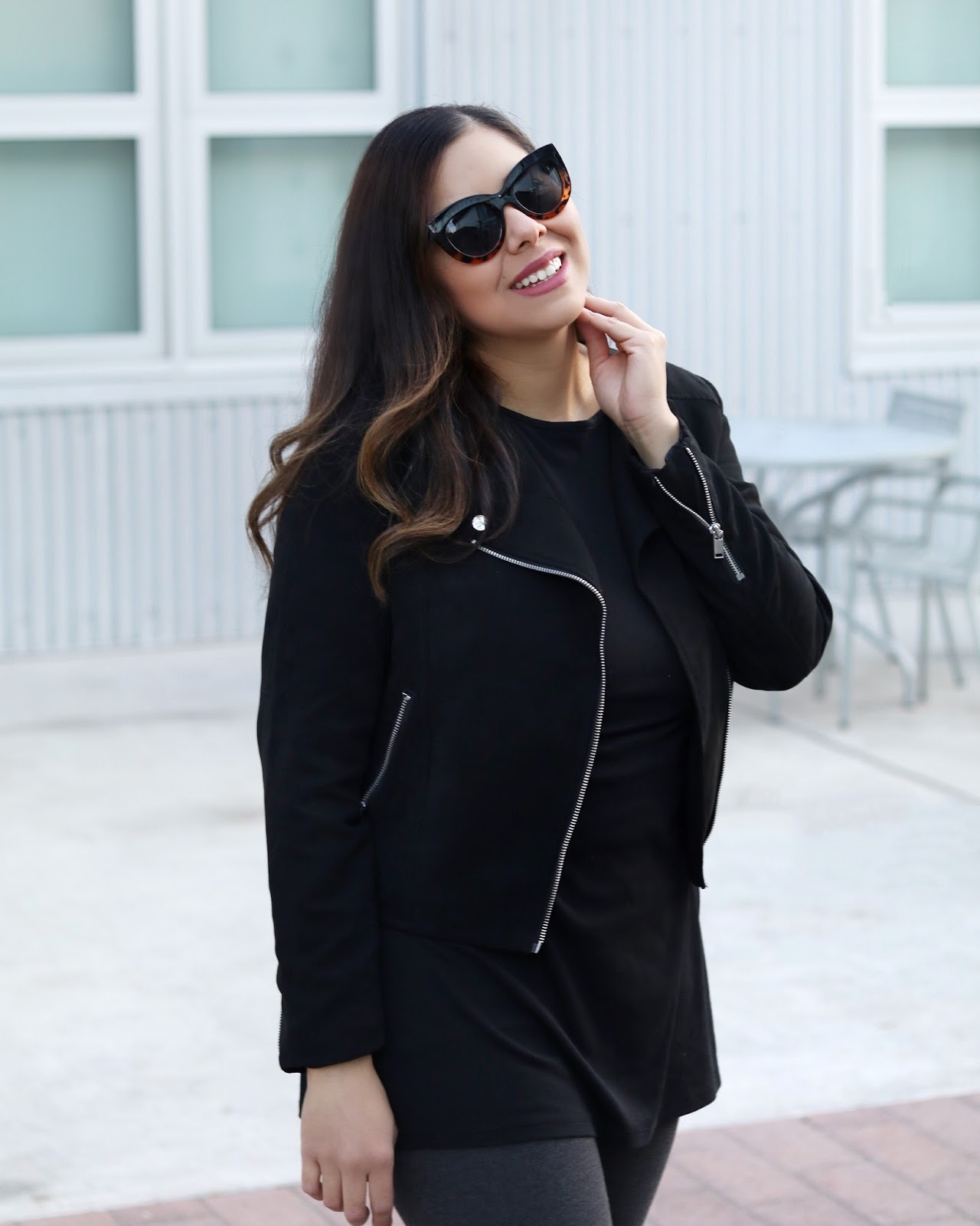 postpartum outfit, chic mommy look, san diego style blogger