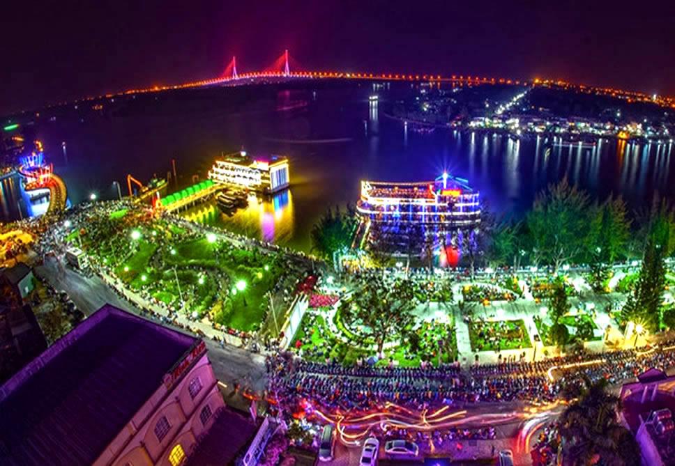 Cảnh đẹp bến Ninh Kiều - Tour Đồng Tháp Cần Thơ