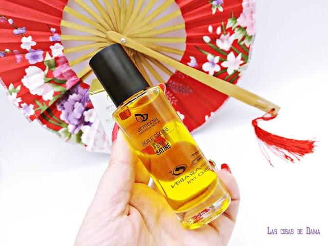 Aceite seco Mediterráneo satinado beauty oil facial skincare corporal cabello cosmética natural