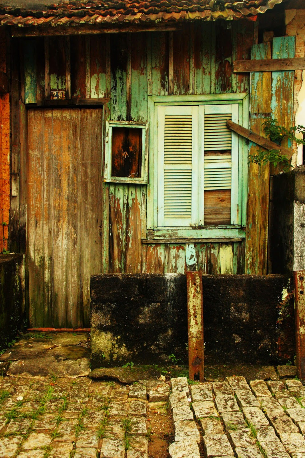 Casa abandonada em Paranapiacaba