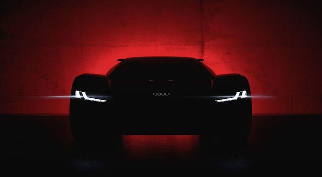 Audi promete revelar o PB 18 E-Tron em Agosto