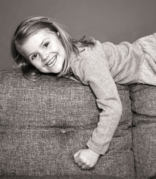 New Photo of Princess Estelle. Daughter of Swedish Crown Princess Victoria and Prince Daniel, Princess Estelle today celebrates her fifth birthday