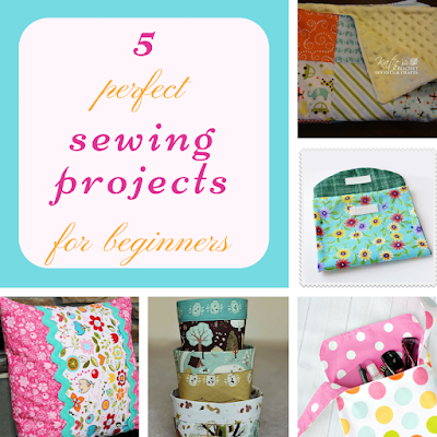 5 perfect sewing projects for beginners