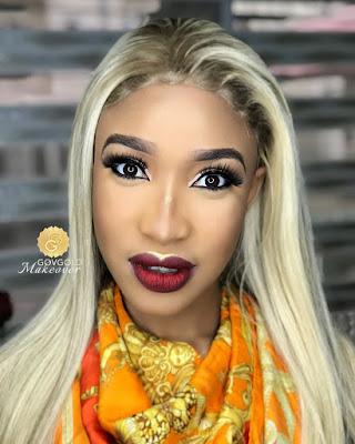 Tonto Dikeh In New Makeup Photos