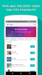 Free Download Sing Karaoke By Smule V.3.4.1 Apk VIP Unlocked