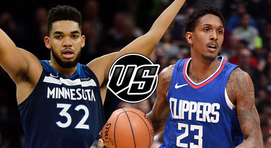 Live Streaming List: Minnesota Timberwolves vs LA Clippers 2018-2019 NBA Season