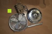 Teile: Andrew James 40cm Standventilator mit Chromfinish – 60 Watt Motor, Verstellbare Höhe, 3 Geschwindigkeitseinstellungen, verstellbare Neigung und Schwenkfunktion + Hochbeanspruchbar – 2 Jahre Garantie