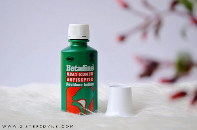 Betadine Obat Kumur Packaging