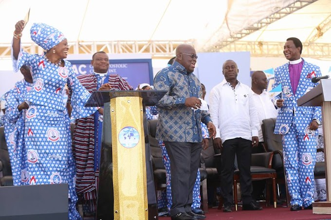 My government will continually rely on God - President Akufo Addo