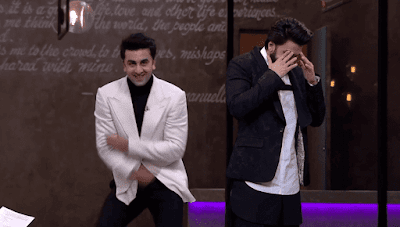 Ranbir Kapoor & Ranveer Singh of Koffee With Karan Season 5