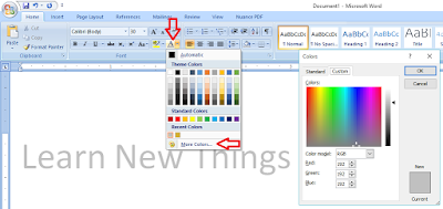 How to Make Golden and Silver Colors In MS Word,how to make gold color in ms word,how to make silver color in ms word,how to print golden color,gold and sliver color,gold & sliver colour text,matter gold and sliver,Red Greee & blue,custom color,gold color,silver colour,change colors,text color,ms word color,how to make,how to apply,RGB,text color gold & silver,chrome color,dark golden color,ms word text color gold & silver Make your text in Gold and Sliver color in ms word