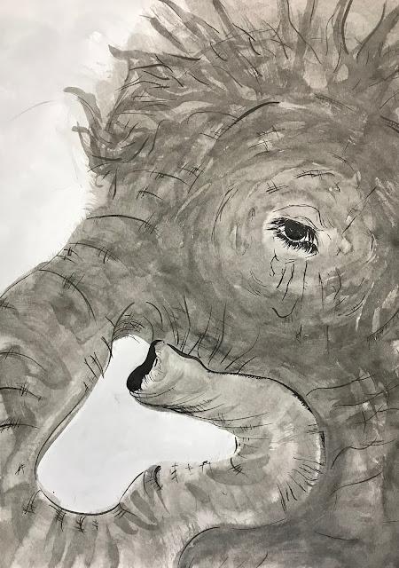 瞳の奥にある /  Ecstatic tenderness〜elephant〜