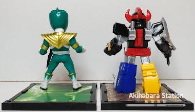 Tamashii Buddies de Green Ranger y Megazord de Power Rangers - Tamashii Nations