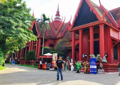 National Museum of Cambodia in Phnom Pehn