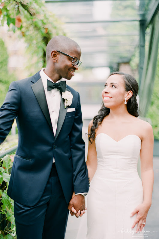 Modern Glam Wedding at The Foundry, NYC