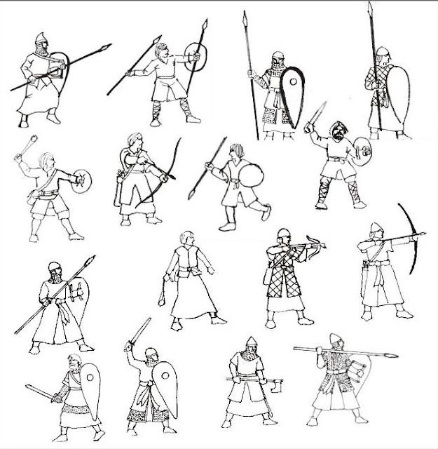 Toy Soldier Chest: HaT EL CID SPANISH INFANTRY Medieval