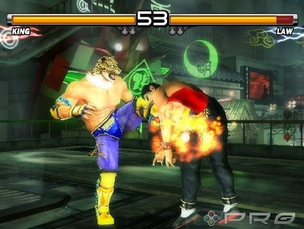 Tekken 5 PS2 GAME ISO Screenshot 2
