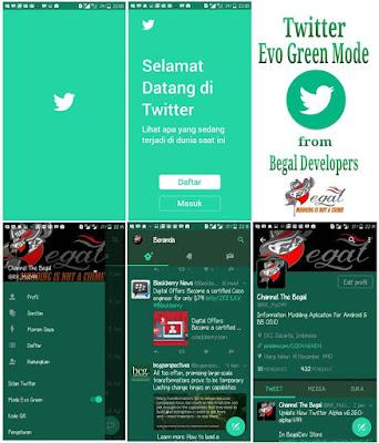 Twitter Mod Evo Green Apk V6.26.0-alpha.499