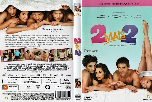 Capa DVD 2 MAIS 2