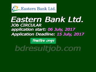 Eastern Bank Ltd. Job Circular