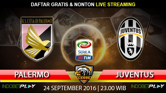 Prediksi Palermo vs Juventus 24 September 2016 (Liga Italia)