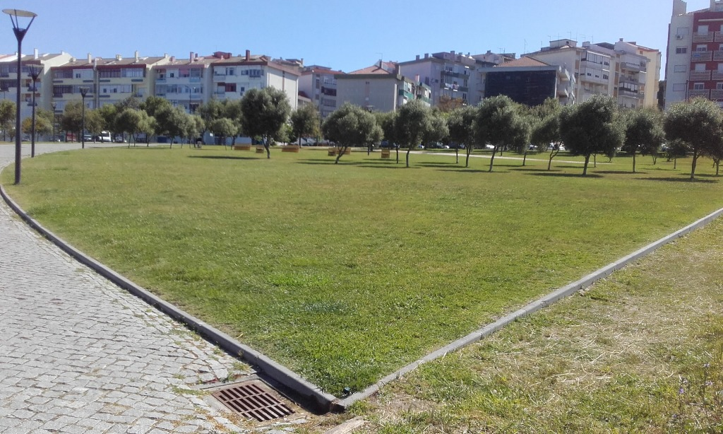 Parque Recreativo da cidade do Barreiro.