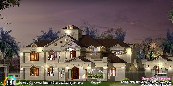 6155 sq-ft luxury house
