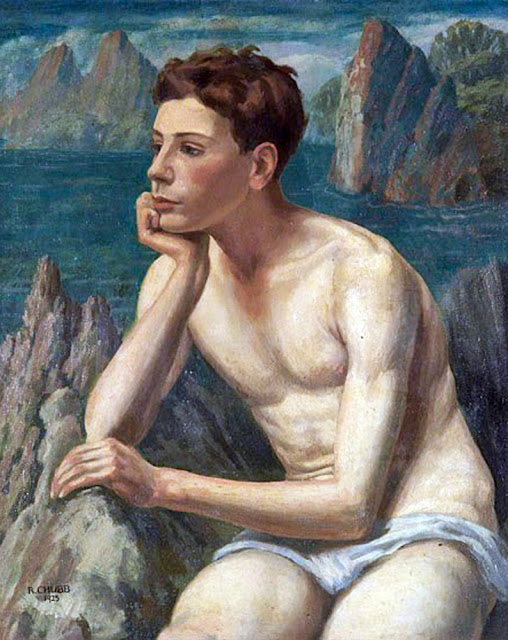 Ralph Chubb, Artistic nude, The naked in the art