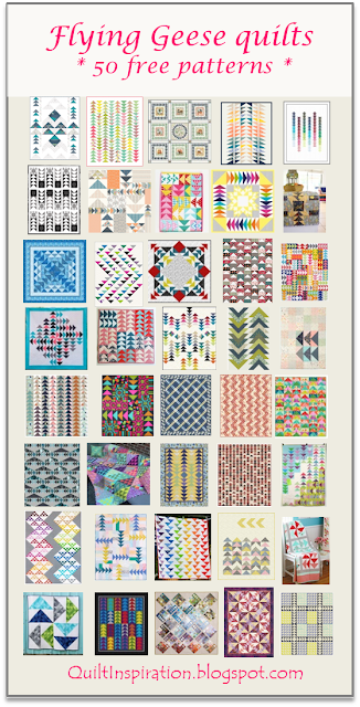 Quilt Inspiration Free Pattern Day Flying Geese Quilts