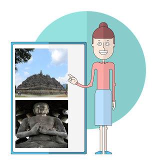 #4 Bentuk Peninggalan Bercorak Buddha