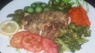 Menu Diet, Resepi Ayam Grill Black Pepper, Ayam Panggang Lada Hitam, Diet Seimbang, Pemakanan Seimbang, Resepi Kuruskan Badan, Menu untuk turunkan berat badan, Cara untuk turunkan berat badan, sayur-sayuran, fiber, Qiya Saad,