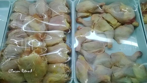 ayam dingin segar, sehat dan praktis