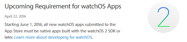 Apple só vai aceitar aplicativos nativos para watchOS a partir de 01 de junho