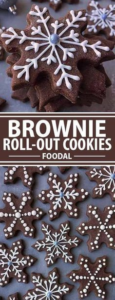 Add Chocolaty Magic To Your Holiday Baking With Brownie Roll-Out Cookies