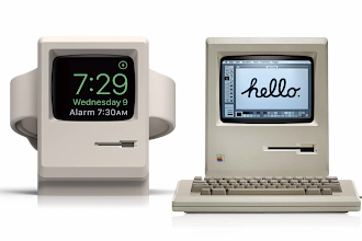 Stazione di ricarica per Apple Watch in stile Mac classic, in offerta