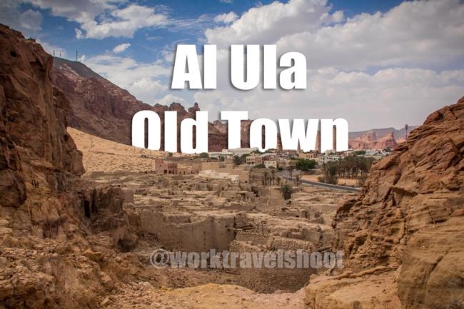Al Ula Old Town by Elriz Buenaventura