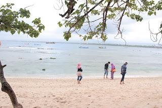 pantai pengandaran, pantai pasir putih pengandaran, pantai pasir putih pangandaran, keindahan pangandaran