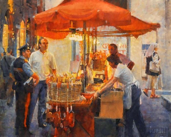 Традиционная станковая живопись. James Crandall