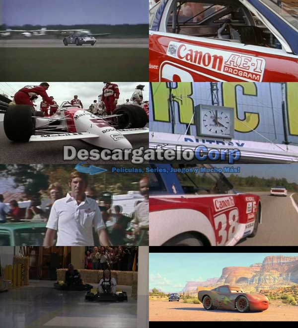 La Vida de Paul Newman como corredor de Autos DVDRip Latino