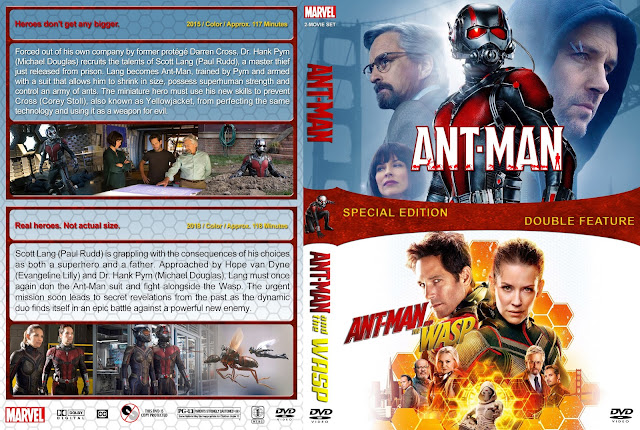 Ant-Man Double Feature DVD Cover
