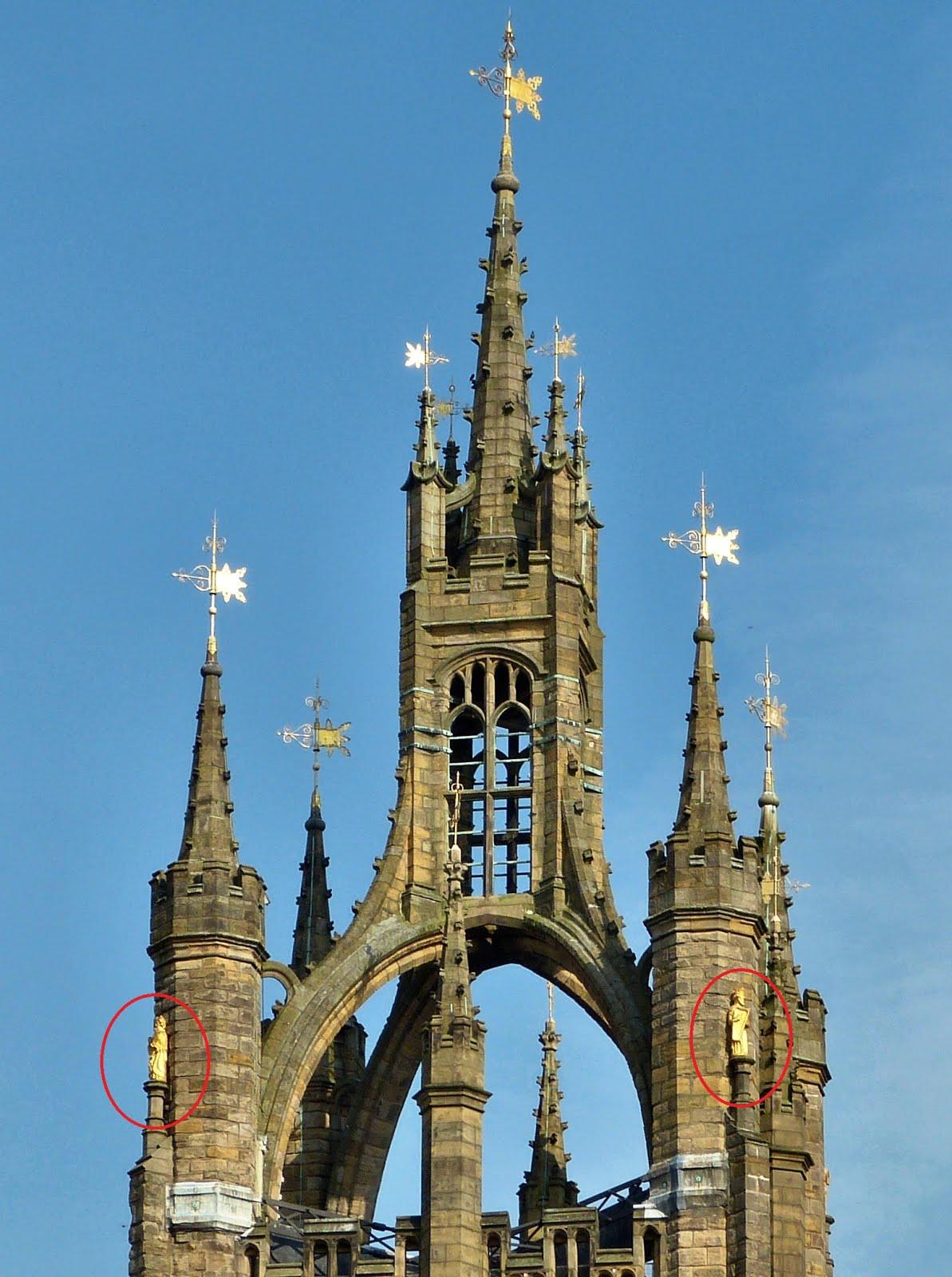 Башня кафедрального собора св.Николая в Ньюкасле