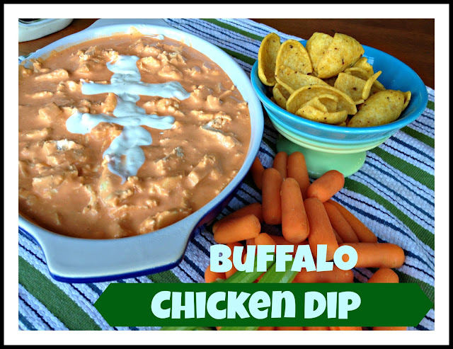 buffalo chicken wing dip or Man Dip Recipe