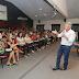 Em reunião com gestores escolares prefeito fala sobre avanços da categoria