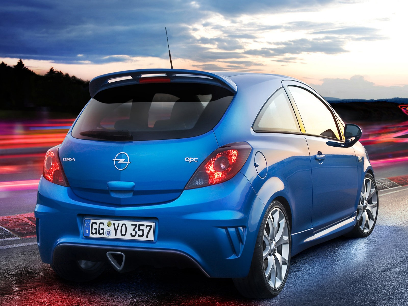 Car Pictures Opel Corsa Opc 2008