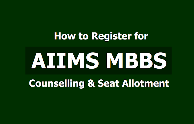 How to Register for AIIMS MBBS Counselling and Seat Allotment 2019